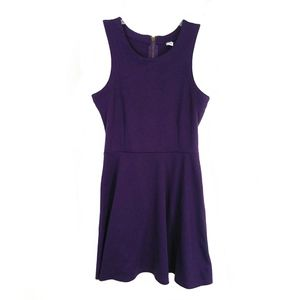 Old Navy purple fit and flare dress SP
